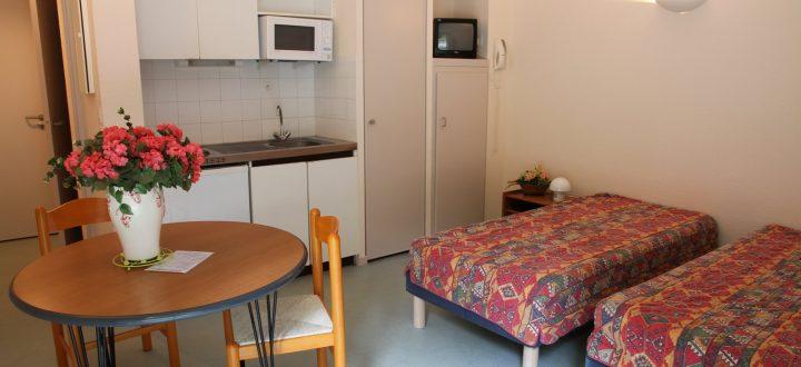 Appartement 2 personnes Résidence des 3 Césars Thermes Aulus les Bains Couserans Pyrénées